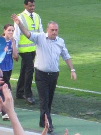 Avram Grant at Stamford Bridge