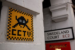 CCTV graffito