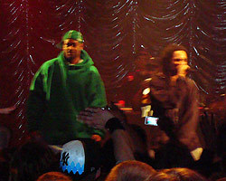 Ghostface Killah and hypeman