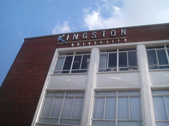 Kingston University campus