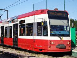 Croydon-based tram