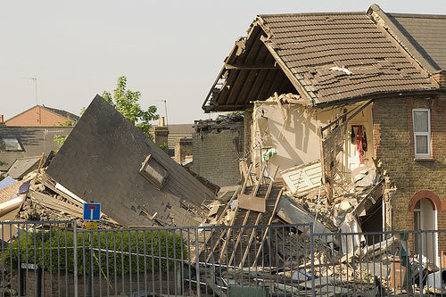 South Harrow Explosion Mystery Continues