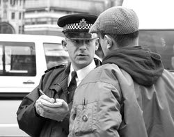 """""""In Your Face Policing"""" Reaction To Knife Crime"""