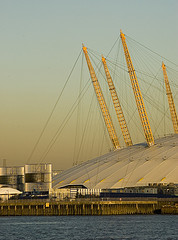 Moonwalk on the Millennium Dome