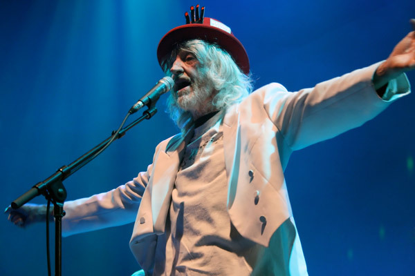 Daevid Allen of Gong at Meltdown 2008
