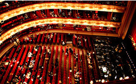 Interior of Royal Opera House