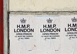 HMP London graffiti