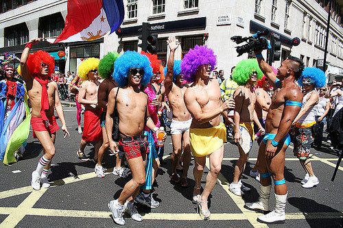 Gay Pride at Trafalgar Square