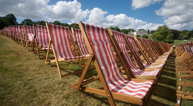 Kenwood House deckchairs