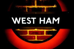 West Ham tube station