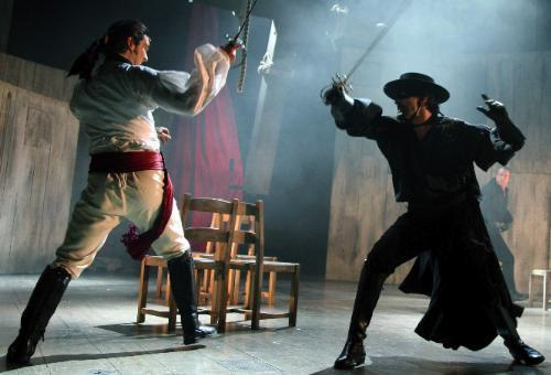 Review: Zorro at the Garrick Theatre
