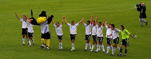 Football: Germany Ladies 3 England Ladies 0