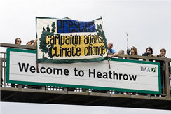"""Heathrow Protesters Plan """"Militant"""" Training Camps"""