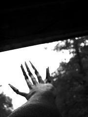 Vampire hand