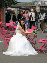 The Bride Stripped Bare By Her Bank, Even