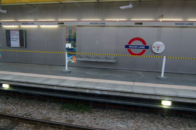 Wood Lane tube