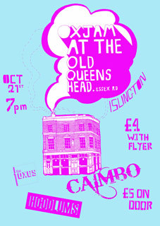 Preview: Oxjam @ Old Queens Head