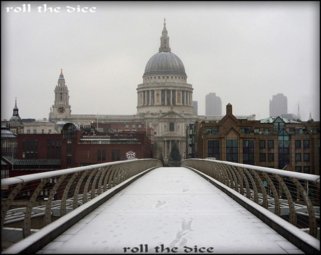 Photo of the Day: St Paul's in the Snow