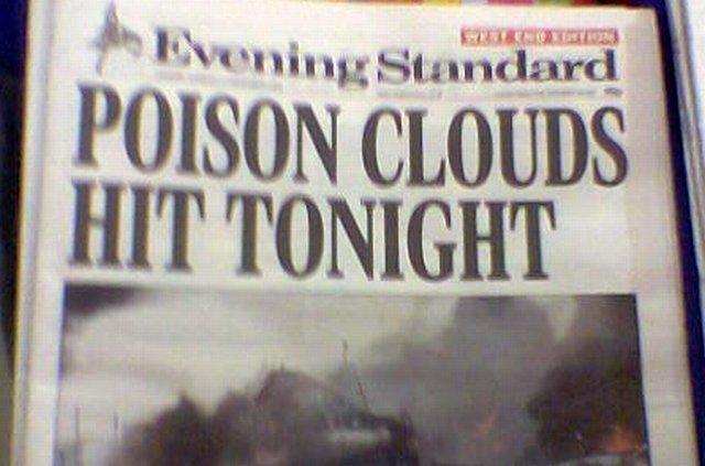 Evening Standard Buncefield Hysteria