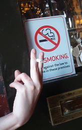 London Shopkeepers Fear Fag Ban