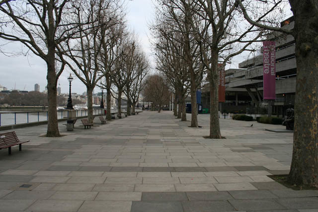 South Bank. No humans. No zombies.