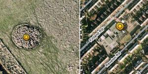 London V2 Rocket Sites...Mapped