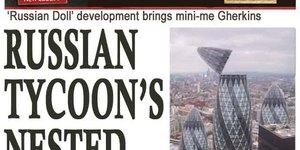 Touch Up London #92: A Russian Evening Standard