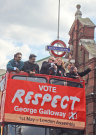 George Galloway Injured At Demonstration