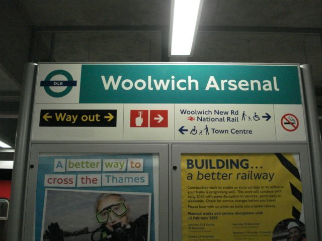 Woolwich Arsenal: it's a better way to cross the Thames