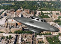 World's Most Explainable UFO Filmed Over Islington
