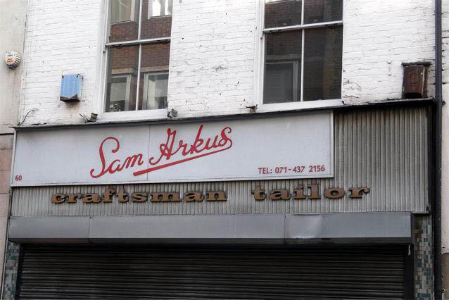 Sam Arkus, Berwick Street, Soho
