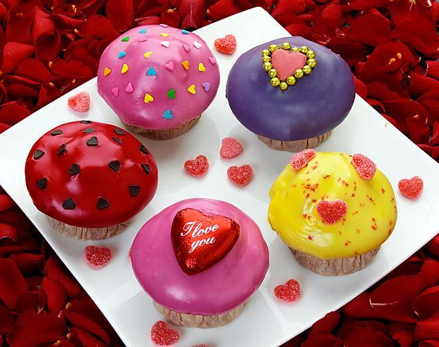 More Valentine's Day Candy Cakes. Just if you were wondering what to get us...