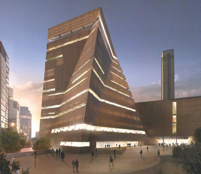 New Images Of Tate Modern Extension