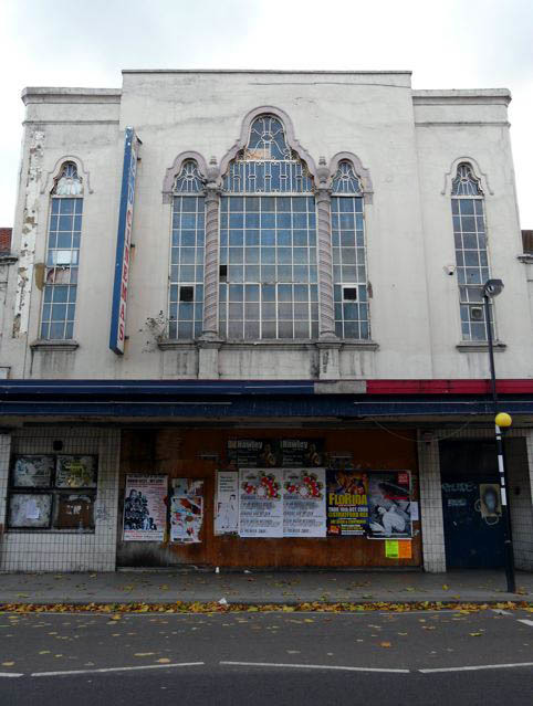 EMD Cinema, Hoe Street, Walthamstow, E17.  Now empty.