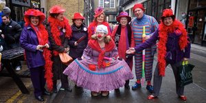 In Pictures: The Great Spitalfields Pancake Day Races