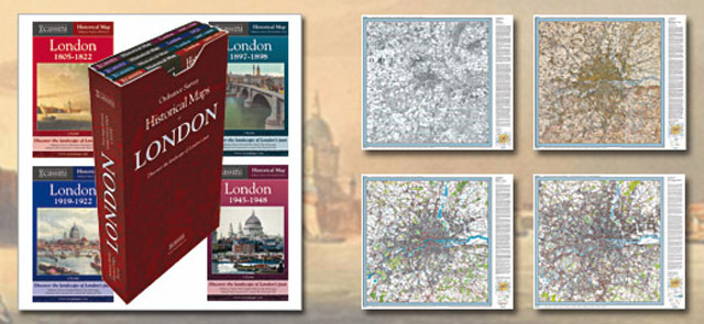 Win A Box Set Of Old London Maps