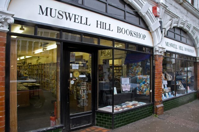 Muswell Hill Bookshop / image courtesy of Will Webster