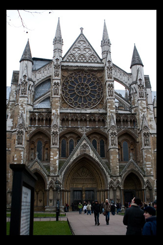 Westminster Abbey by Brett.