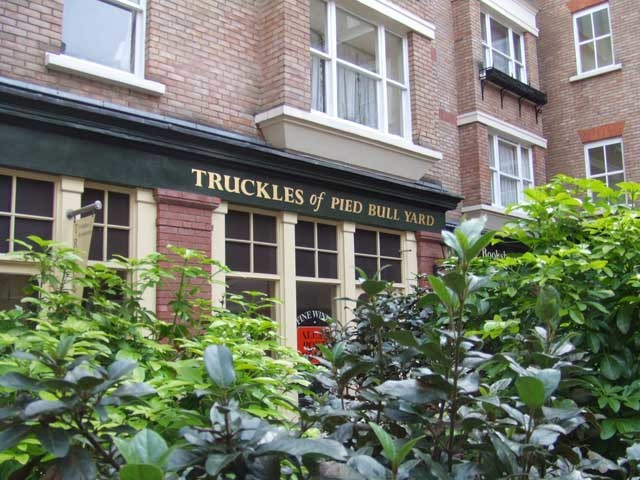 Truckles of Pied Bull Yard