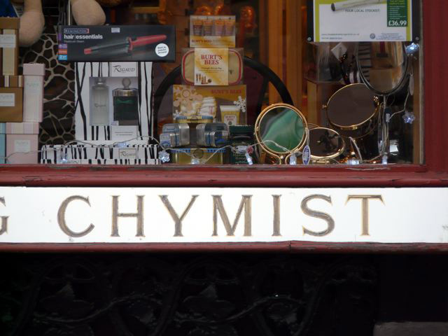 Walden Chymist, Elizabeth Street, SW1