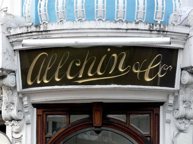 Allchin & Co., Englands Lane, Belsize Park, MW3