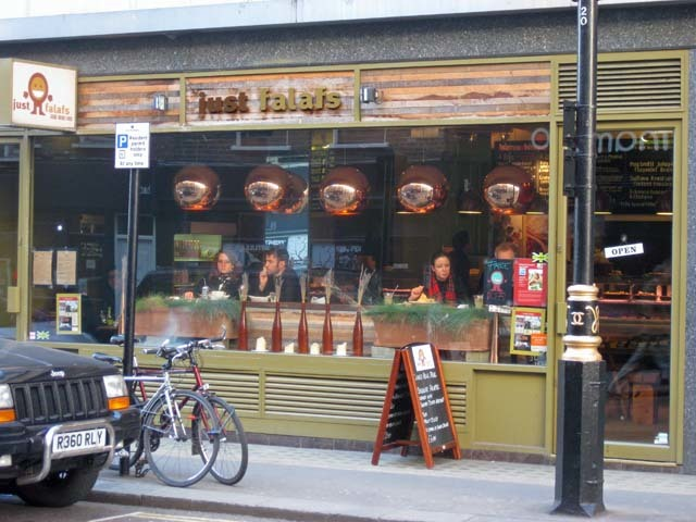 Just Falafs, Wardour Street. The Soho chickpea meisters are also liars. They serve so much more than the veggie staple.