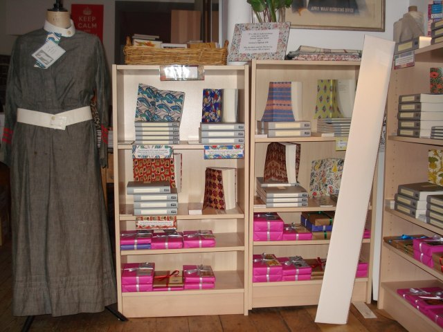 More Persephone books. They also sell clothes you know (though more along scarf / jacket / apron lines than WW1 nurse)