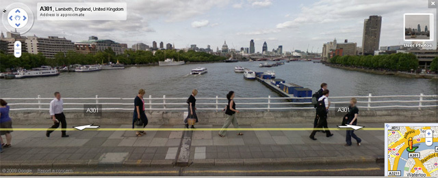 Google Street View Now Live In Uk Londonist