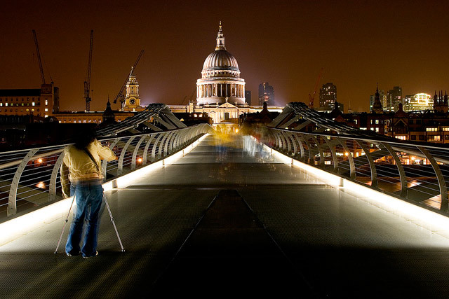 St Paul's by Simon Crubellier via the Londonist Flickrpool