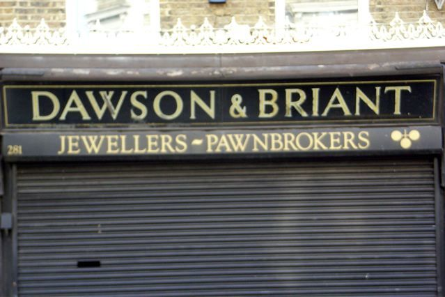 Dawson & Briant, Kentish Town Road, NW5.