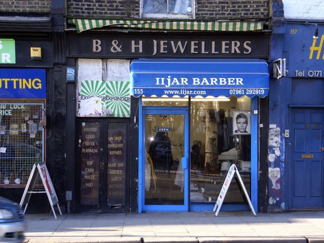 Too late for B & H Jewellers, Kentish Town Road, NW1