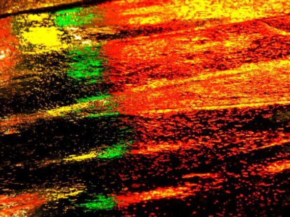 Taxi Driver Abstract: taken with a Fuji Finepix S5100.