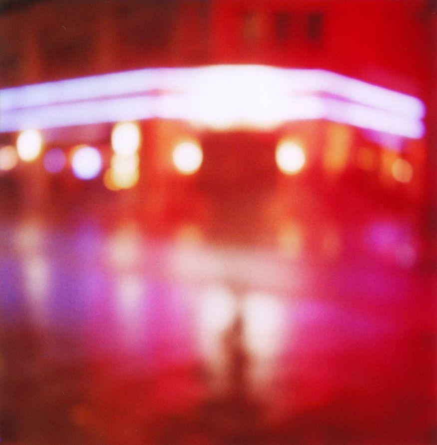 Polablurs // No.2, taken with a Polaroid SX70.