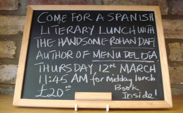 Enjoy a literary lunch